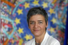 Competition Commissioner Margrethe Vestager